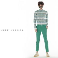 Ahn Jaehyeon, Do Sangwoo, Kim Wonjung for Chris Christy Mild Summer 2014 campaign