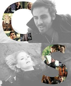 Captain Hook and Emma Swan! I hope with ALL my heart she ends up with Hook