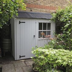 Cottage Gardens Parents' retreats, potting sheds, outdoor storage and bicycle shelters – we've got it covered! - Parents' retreats, potting sheds, outdoor storage and bicycle shelters – we've got it covered! Garden Storage Shed, Diy Shed, Shed Design, Garden Design, Garden Cottage, Home And Garden, Small Garden With Shed, Small Sheds, Garden Bar