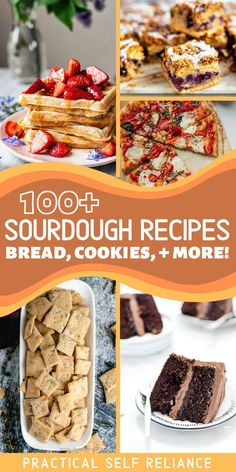 There's more to sourdough than just bread! Learn how to make just about any baked good or dessert with healthy sourdough starter or discard, from crackers to cakes and cookies. There are even a few old school preservation recipes that culture other foods with sourdough starters, from traditional brined apples to kvass. Savory Bread Recipe, Sourdough Recipes, Quick Bread Recipes, Real Food Recipes, Cooking Recipes, Bread Making, How To Make Bread, Food To Make, Sourdough Bread Machine