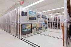 Framed Art Storage