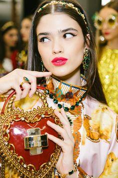 Dolce & Gabbana Spring 2018 Backstage