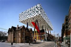 Toronto - Ontario College of Art and Design extension, designed by Will Alsop.