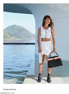 Alicia Vikander posed for Louis Vuitton 'Spirit of Travel' fall 2016 collection in Rio de Janeiro. #campaign #luxury #louisvuitton #aliciavikander #fabfashionfix