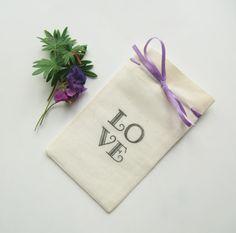 Wedding Favor Bags-Wedding Favor Ideas-5x3-Muslin Bags with