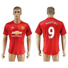 Manchester United 16-17 Martial 9 Hjemmebanetrøje Kortærmet.  http://www.fodboldsports.com/manchester-united-16-17-martial-9-hjemmebanetroje-kortermet.  #fodboldtrøjer