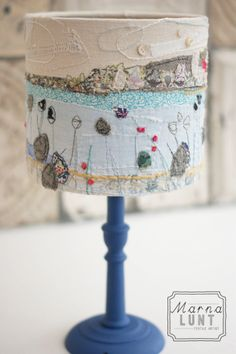 St Ives Lampshade finished in all its glory, www.marnalunt.co.uk