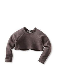 46% OFF neve/hawk Kid's Carys Cropped Crossback Sweatshirt