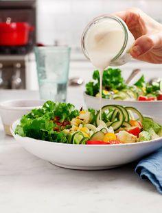 "Vegan Cobb Salad with Coconut ""Bacon"""