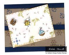 DeNami Pirate Chickie card