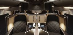 British Airways : Boeing-787-9-Dreamliner First Class Cabin