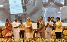 PM attends first National Handloom Day celebrations