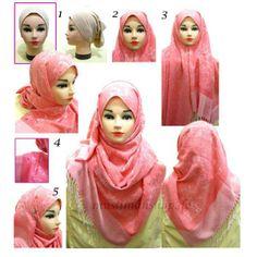 Hijab's Corner | wear hijab, kopftuch binden, hijab style, hijab fashion, kopftuch mode