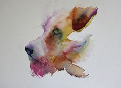 The Magic of Watercolour Painting Virtual Gallery - Jean Haines, Artist - Dogs  jeanhaines.com