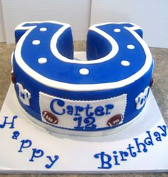 Colts Shoehorse Cake