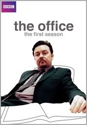 The Office (UK) - [Television] - Ricky Gervais stars in this internationally recognized, award winning comedy set in suburban London at Wernham Hogg, a dysfunctional paper company where life is stationary. David Brent is a petty, pompous boss who thinks he's the funniest, most popular man in the world. Pedantic and insufferable underling Gareth, Assistant to the Regional Manager, agrees with him.