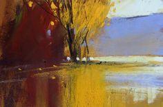 Tony Allain    AUTUMN pastel 8 x 10in