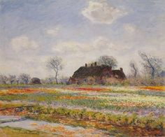 (1886) Fields of Tulips in Sassenheim near Haarlem