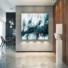 Extra Large Abstract Painting Blue Sea Canvas Art Black Wall Art Sea Painting Wave Painting Original Living Room Art Abstract Oil On Canvas Extra Large Abstract Painting Blue Sea Canvas Art Black Wall Art Sea Painting Wave Painting Original Sky Painting, Seascape Paintings, Large Painting, Acrylic Painting Canvas, Canvas Art, Large Canvas, Canvas Paintings, Acrylic Art, Texture Art