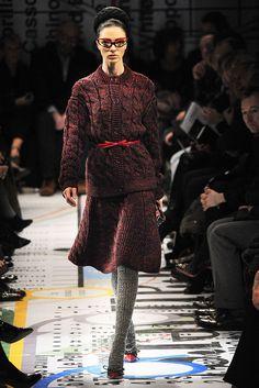 Prada Fall 2010 Ready-to-Wear Fashion Show - Mariacarla Boscono