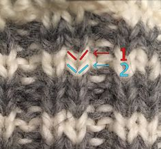 Hvordan strikke selbuvotter | Lag det selv, da vel Beanie, Different Textures, Drops Design, Sprinkles, Winter Outfits, Knitting Patterns, Diy And Crafts, Kimono, Women