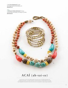 Noonday Collection. I love this La Jolla necklace.