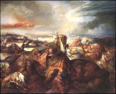 Otto Dix Painting of Flanders Field