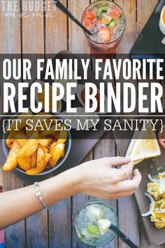 Do you keep a favorite family recipe binder? If not, it could save your sanity and cut down on the craziness of meal planning! Family Meals, Family Recipes, Recipe Binders, Life Insurance, Frugal Living, Meal Planning, Favorite Recipes, Healthy Recipes, Dinner