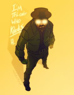 #illustration The One Who Knocks by Michael Anderson, via Behance