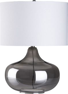 Liza Table Lamp  | Crate and Barrel--Purchased 2 of these lamps for Living room or BR