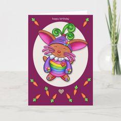 Nano Bun - Hoppy Birthday Card Easy Diy Crafts, Diy Craft Projects, Diy Crafts To Sell, Golf Crafts, Fun Diy, Diy Father's Day Gifts, Valentine's Day Diy, Diy Crafts For Teen Girls, Diy For Kids