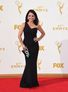 See Julia Louis-Dreyfus in Safiyaa and all the other best dressed celebrities at the Emmys on wmag.com.