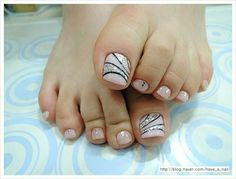 52 Pretty and Cute Toe Nail Designs 52 Pretty and Cute Toe Nail Designs – Beautified Designs Related Posts 60 Pretty Toe Nail Designs For Autumn Find The Best Beaches In Kauai 21 Pretty Toe Nails Designs easy toes nail art ideas for spring 2014 Simple Toe Nails, Pretty Toe Nails, Cute Toe Nails, Summer Toe Nails, Classy Nails, Pedicure Designs, Pedicure Nail Art, Toe Nail Designs, Toe Nail Art