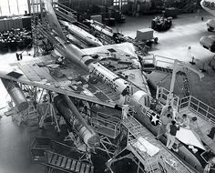 Convair B-58 Hustler assembly line