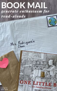 An easy and fun way to get children excited about reading. Book mail is a project that you can do daily all school year long. Interactive Books For Preschoolers, Preschool Books, Reading Activities, Literacy Activities, Reading Incentives, Listen To Reading, Life Quotes Pictures, Teaching Strategies, Teaching Tips