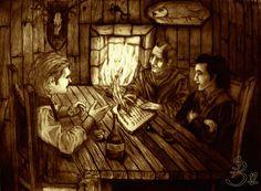 Tales at the Waystone Inn by MichaelSwordblade.deviantart.com on @deviantART