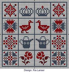 wzory, haft,serca,hand made, kotyliony, zawieszki