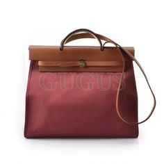 Authentic Hermes zip large Tote bag