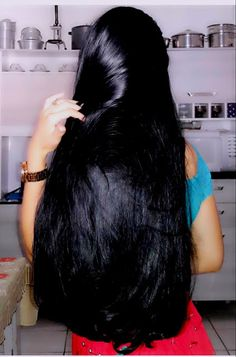 70 Ideas hair dark black style for 2019 70 Ideas hair dark black style for 2019 Beautiful Long Hair, Gorgeous Hair, Straight Hairstyles, Cool Hairstyles, Beautiful Hairstyles, Indian Hairstyles, Black Hairstyles, Long Indian Hair, Long Dark Hair