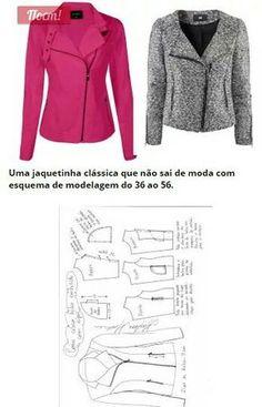Sports jacket with side zipper..<3 Deniz <3