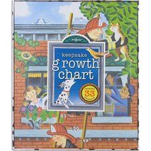 Eeboo Firemen Growth Chart. Available at OurPamperedHome.com