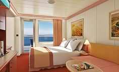 Balcony Stateroom, Carnival Miracle – Cruise Preview: Carnival Miracle, Mexican Riviera 2013 | Popular Cruising (Image Copyright © Carnival Cruise Lines)