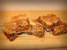 How To Meet My Kitchen: Μελιτζανό-μανιταρό-πιτα!