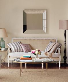 Living in an apartment, or in an older home with tiny rooms, can present a challenge: how to make your limited space seem larger. Try these easy home-decorating ideas.
