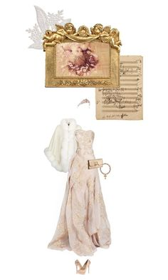 """""""Lucrezia Borgia"""" by summersdream ❤ liked on Polyvore featuring Harrods, Andy Warhol, Z Spoke by Zac Posen and B Brian Atwood"""