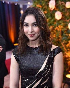 Julia I love ur beautiful hair black and long❤Now maiksi na at may kulay pa pero maganda parin naman ikaw. Filipina Beauty, Actresses, Love, Hair Styles, Black, Fashion, Female Actresses, Amor, Hair Plait Styles
