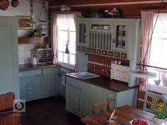 Fotka realizace | Bydlo.cz Kitchen Cabinets, Cottage, Interior Design, Home Decor, Kitchens, Album, Inspired, Houses, Ideas