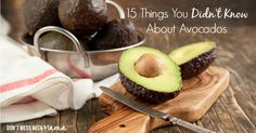15 Health Benefits of Avocados - Don't Mess with Mama