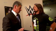 SmackDown Live ended in a very interesting way on Christmas Night. After Rusev became the new WWE United States Champion, AJ Styles ran into Vince McMahon Wrestling Superstars, Wrestling News, True Love Stories, Love Story, Wwe United States Championship, Wrestlemania 29, Vince Mcmahon, Aj Styles, Wwe News