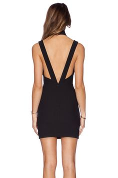 AQ/AQ Simmer Mini Dress en Negro | REVOLVE